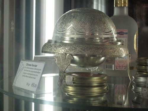 Caviar holder