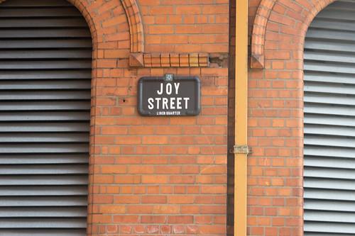 Belfast City - Joy Street In The Linen Quarter