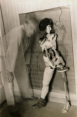 Hans Bellmer, Self-Portrait with the Doll, 1934 (kraftgenie) Tags: lens doll bellmer