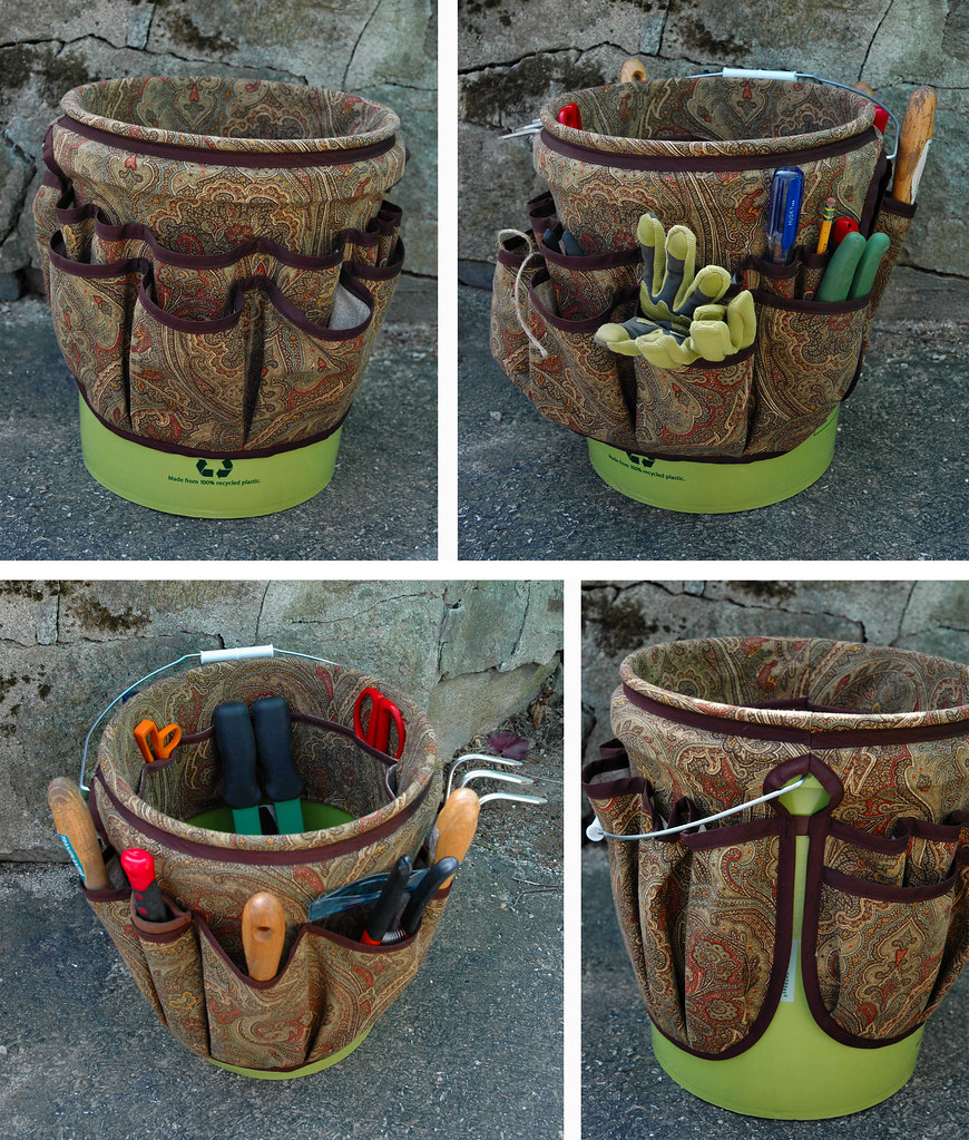 Exceptionnel Bucket Apron For Gardening Tools (kizilod) Tags: Garden Bucket Gardening  Apron Organizer Fabric