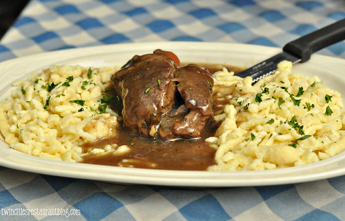 Beef Rouladen at Black Forest Inn ~ Minneapolis, MN