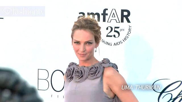 Uma Thurman + Ana Beatriz Barros @ amfAR Gala Red Carpet, 2011 Cannes by FashionTV on Flickr