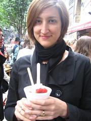 Jessica's strawberries