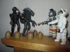 Alien Egg Pods and Ripley - Aliens 2151 (Brechtbug) Tags: alien egg pods ripley aliens scifi science fiction tv television show creature monster action figure toy toys space galaxy universe funko prometheus engineer figures series 1 ridley scott film movie xenomorphs like 2017 reaction original super7 retro active kenner type kane designed canceled for 1979 face hugger chest burster xenomorph facehugger chestburster helmet