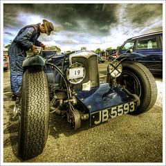 Race Day... (jetbluestone) Tags: cars sports race vintage bravo hdr oultonpark