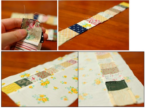 How to make a patchwork pouch (2)