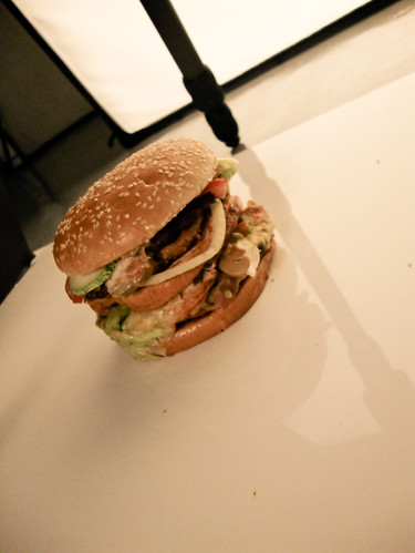 Photoshoot at Flame (Burger)