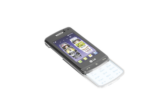 LG Crystal GD900 open