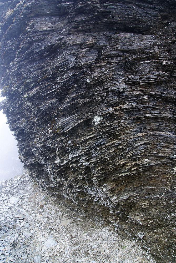 奇萊Day2-74 碎板岩