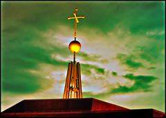 lumen christi (Dan Anderson.) Tags: church minnesota st paul catholic village cross cities twin spire highland christi mn lumen dananderson