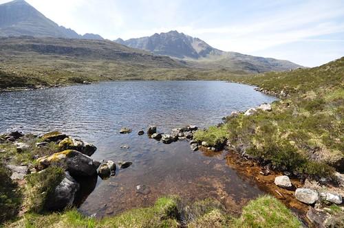 Liathach and Loch Grobaig