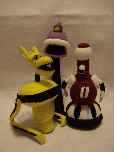 MST3K bot plush set