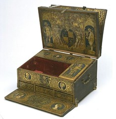 A Writing Box, 1520-1527, Museum no. W.29:1 to 9-1932.