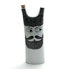 La Gardo Tackett decanter (Wooden donkey) Tags: modern bottle moustache mustache midcentury lagardo