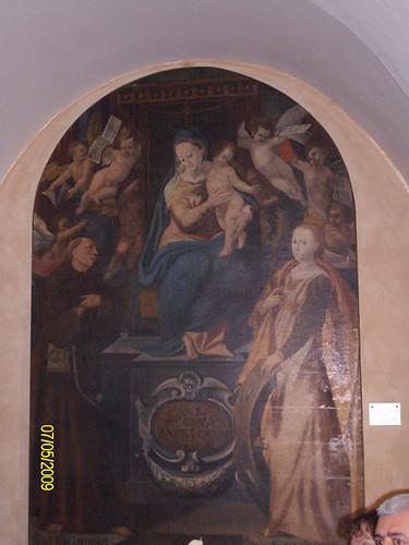 Dipinto Vergine Maria - Santuario dello Speco