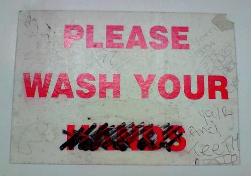 A rogue Dentist / graffiti artist woz ere.