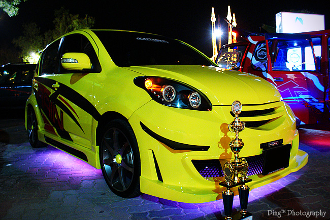 Yellow Myvi