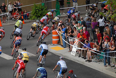 Racing action at Cirque du Cycling-7