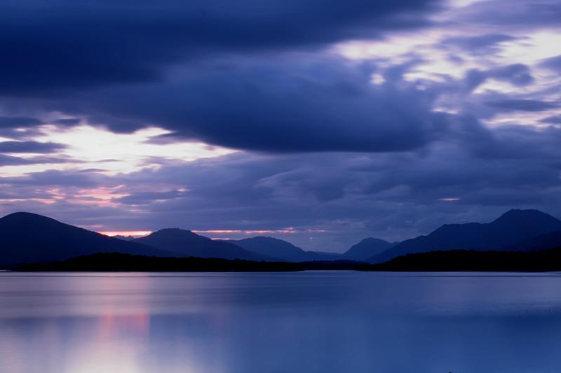 Last Light on Loch Lomond