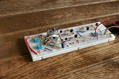 Breadboard - Coffee Cup Theremin