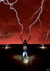 God's invocation (www.jdavidfuertes.com) Tags: lighting light red cloud storm david clouds photoshop work three rojo ray juan god wheat working apocalypse diego ps final nubes lanterns end tormenta terror campo gods toni tres lantern jd rayo manolo manu retouch mal retouching aguas nube invocacion pintar dios siete iluminacion trigo ilumination cabañas abad iluminar garcía requena fuertes linterna invocation dioses apocalipsis linternas juanda rebollar yeves carrascosa lanzafotos anyecar
