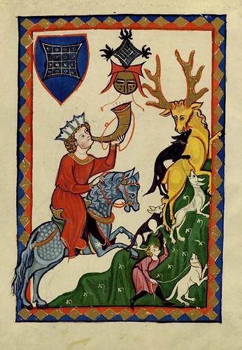 017- Konrad von Suonegge-Codex Manesse