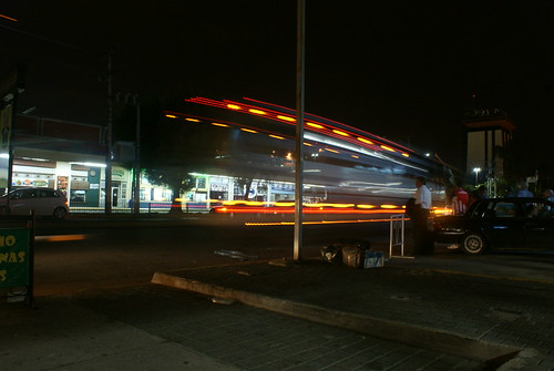 Salida del Autobus