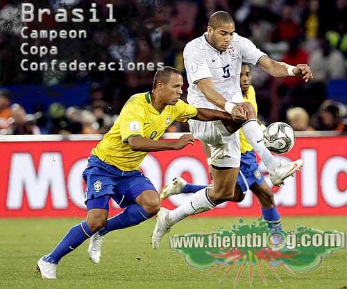 Brasil campeon Copa Confederaciones