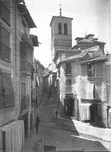 Torre de La Magdalena en el siglo XIX. Fotografía de Casiano Alguacil