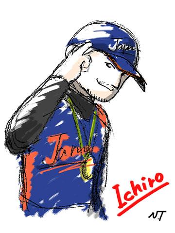 ICHIRO of WBC