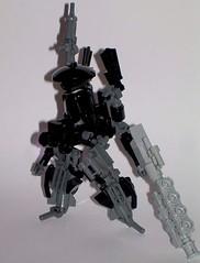 Early Hardsuit. (Leg-O-Matic) Tags: gun lego suit powersuit railgun harduit