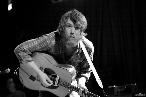 Robin Pecknold of Fleet Foxes, photo by Sarah Jurado