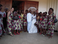 AFEM girls and the couple