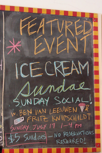 Ice Cream Sundae Event at Murray's Cheese
