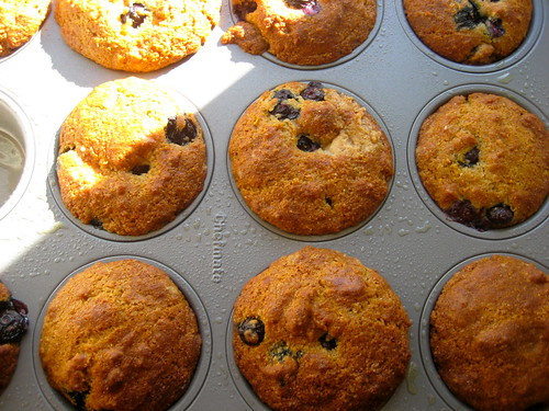 muffins are out of the oven!