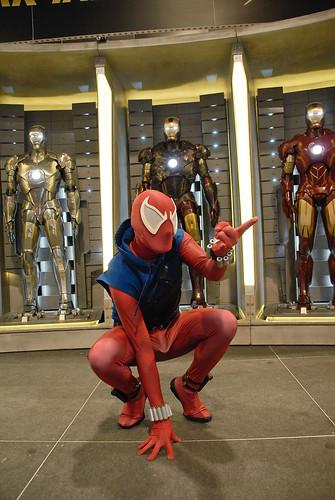 Scarlet spider costume - photo#10