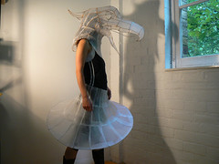 wearable wireframe (polyscene) Tags: sculpture art paperart polly poly verity papersculpture polyscene pollyverity papersculptures