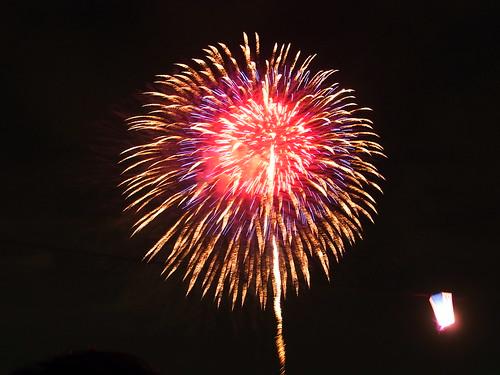 Fireworks in Itabashi, 2009 - 5