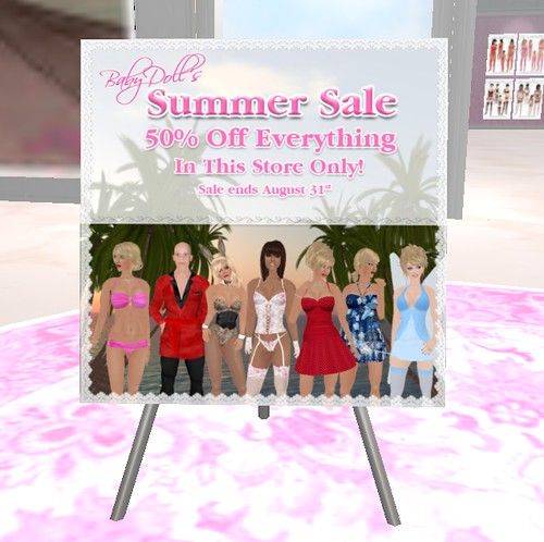 Babydoll Summer Sale - 50% off