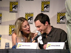 Jim Parsons, Kaley Cuoco (The Big Bang Theory)