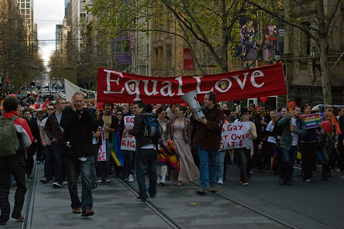 Equal Love, Melbourne