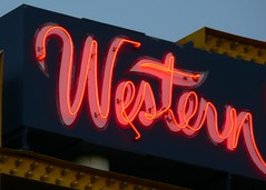 Albuquerque, NM Western View Steakhouse Coffee Shop sign close-up (army.arch) Tags: newmexico sign typography restaurant neon albuquerque nm vintagetype