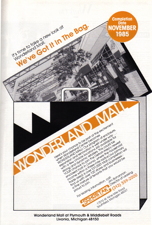 Vintage Ad #875: Wonderland Mall Has it in the Bag