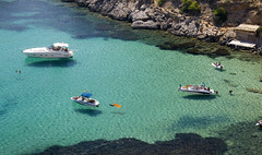 ibiza yachting (ariusz) Tags: plaza las summer vacation sun holiday hot love beach wow fun island dance amazing spain sand europe gorgeous jacob den ses july playa ibiza beaches eivissa med espagne 2009 bora pacha turqoise boron bossa balearic mediteranean dariusz salines hiszpania baleric dariuszboron jacoboron