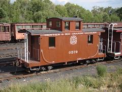 D&RGW Caboose #0579 (El Cobrador) Tags: railroad newmexico caboose chama narrowgauge cumbrestoltec denverriogrande drgw