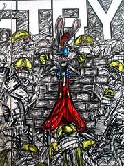 UK street art - day 1 - London - Nathan Bowen (_Kriebel_) Tags: street uk london art graffiti britain united great kingdom londres gb londen urbain kriebel aug2009