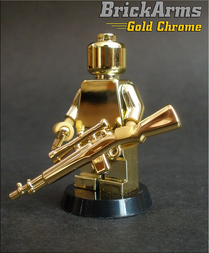 Gold brickarms