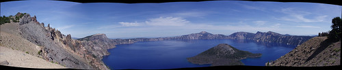 Crater Lake Oregon pano
