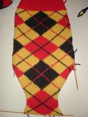Tartan Argyle Sock