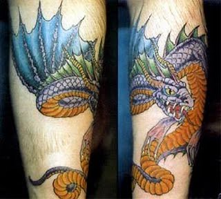 tatoo dragão